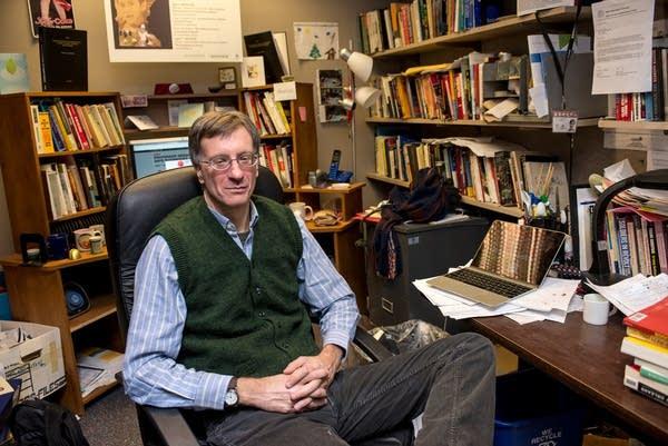 Dr. Stephen Philion. sociology professor at SCSU
