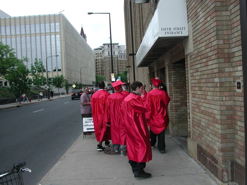 St. Paul High graduates