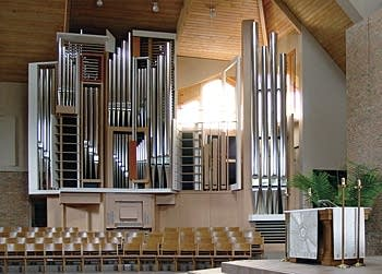 2005 Glatter-Götz, Rosales organ at Augustana Lutheran Church