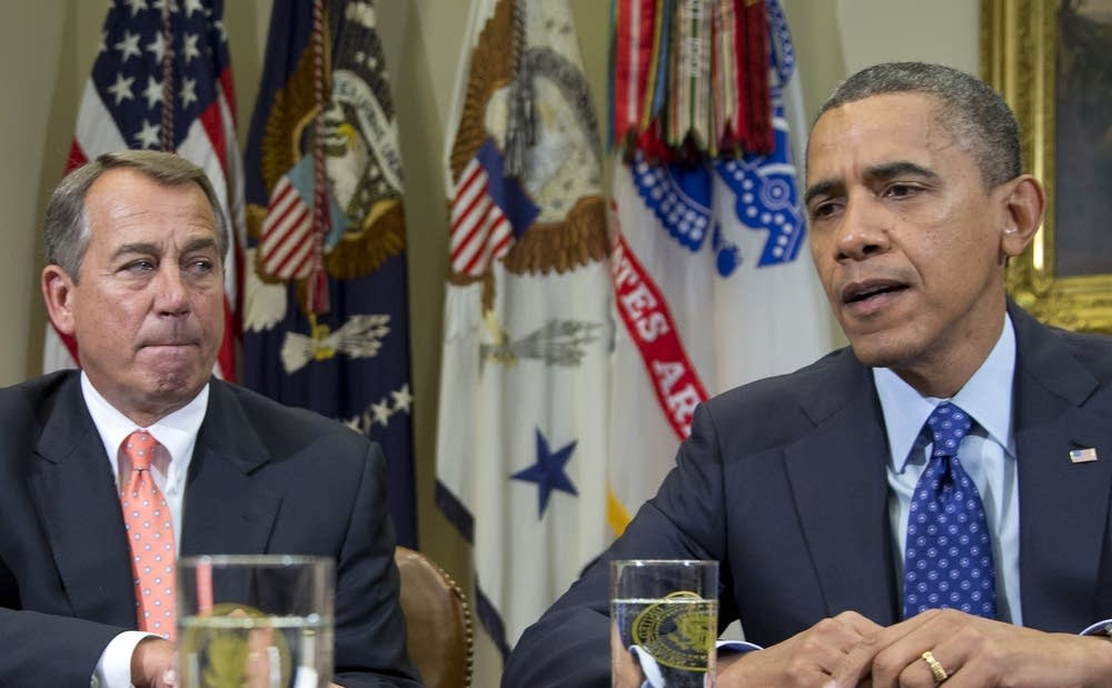 John Boehner, Barack Obama
