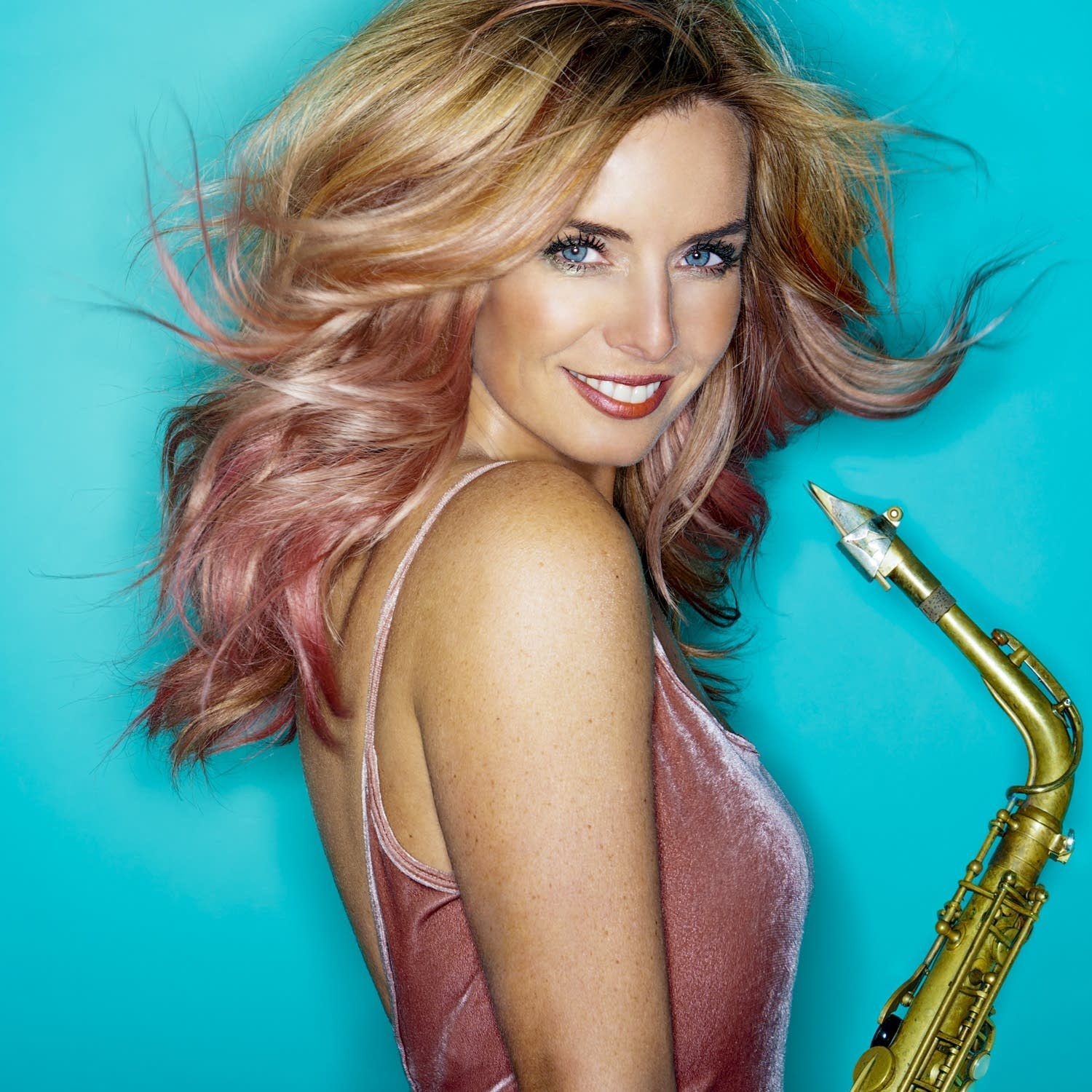 A conversation with saxophonist Candy Dulfer, frequent