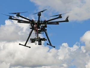 U of M agriculture research drone