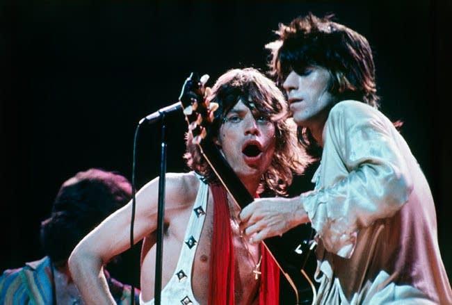 Keith & Mick - 1972