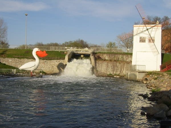Rapids and the mill