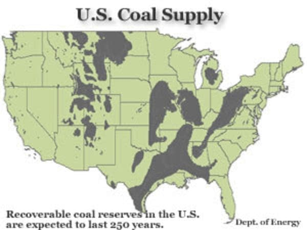 Plenty of coal
