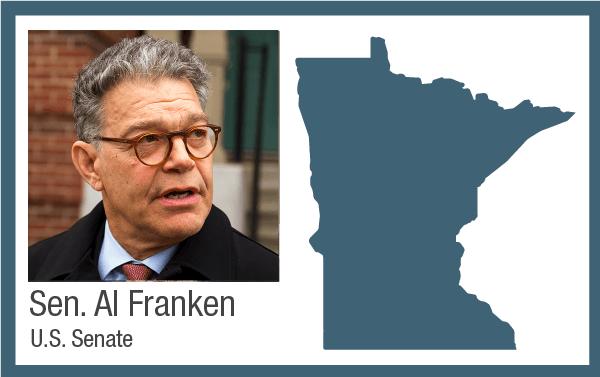 U.S. Senator Al Franken , DFL