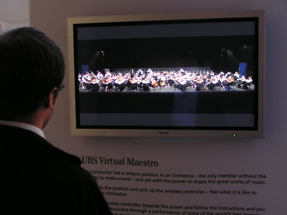 Virtual Maestro screen