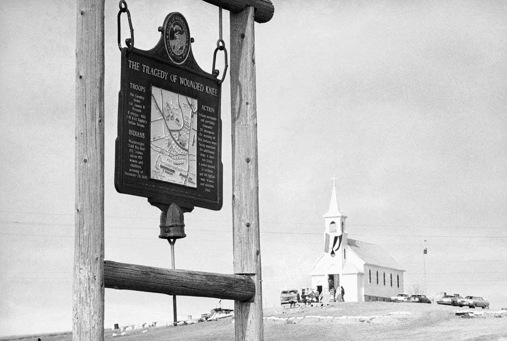 catholic single women in wounded knee The wounded knee massacre  and children of the lakota had been killed and 51 were wounded (4 men and 47 women and children,  single drumbeat.
