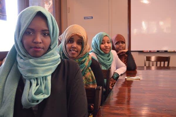 Nasteho Dini, Ifrah Abukar, Suda Salah, Madina Ali