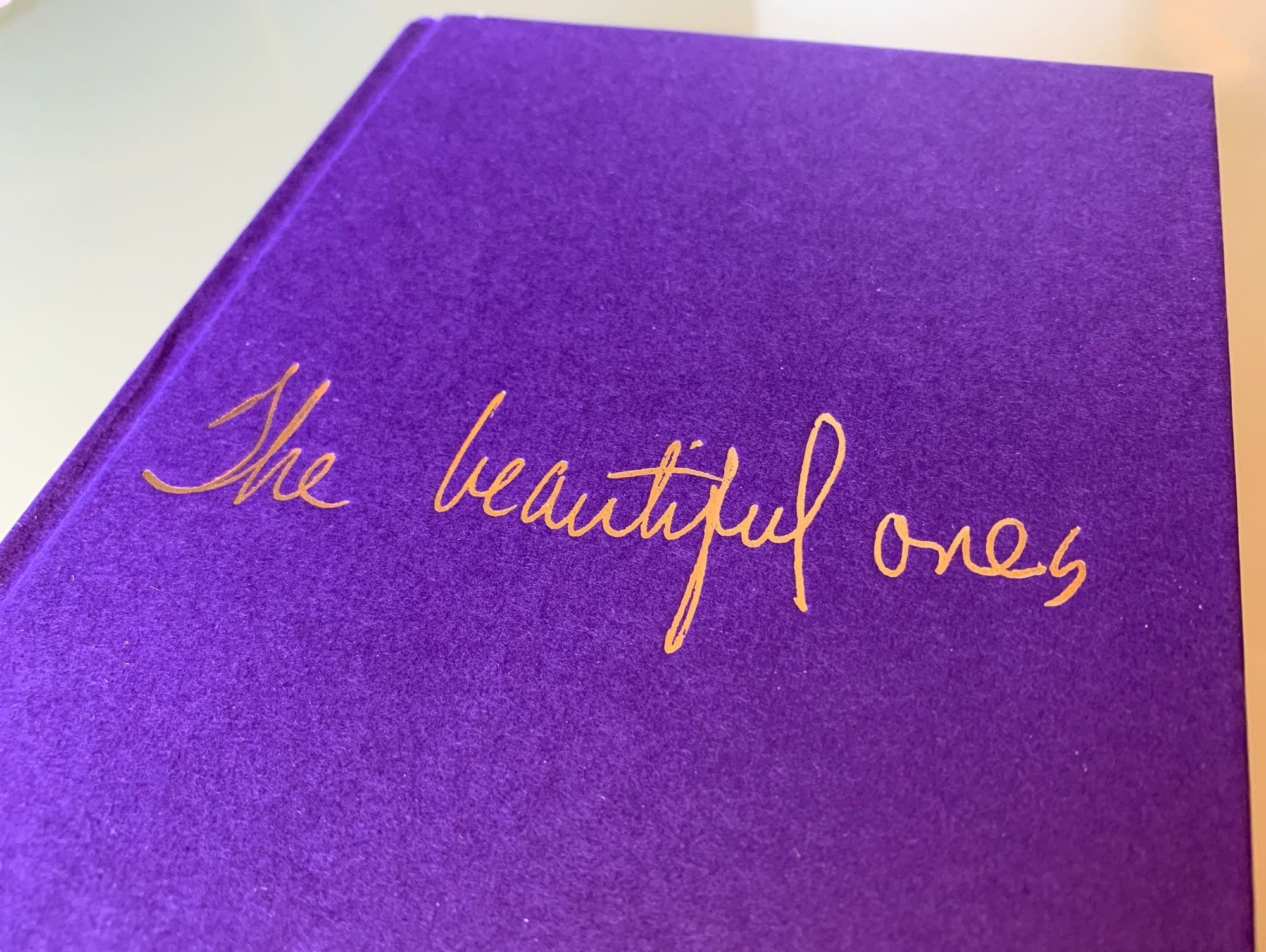 Prince's book 'The Beautiful Ones' (cover).