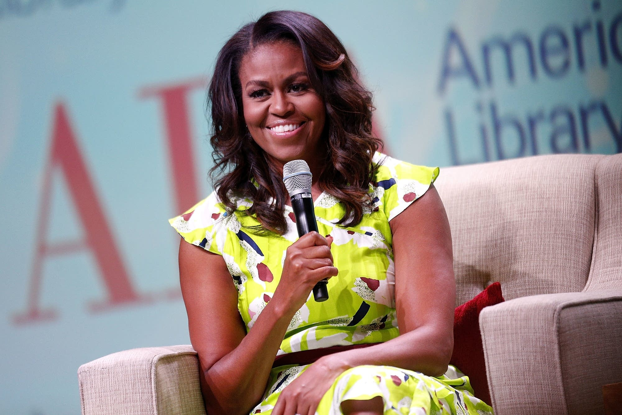 Michelle Obama discusses her new memoir.
