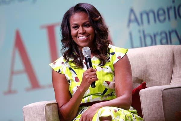 Michelle Obama discusses her new memoir.