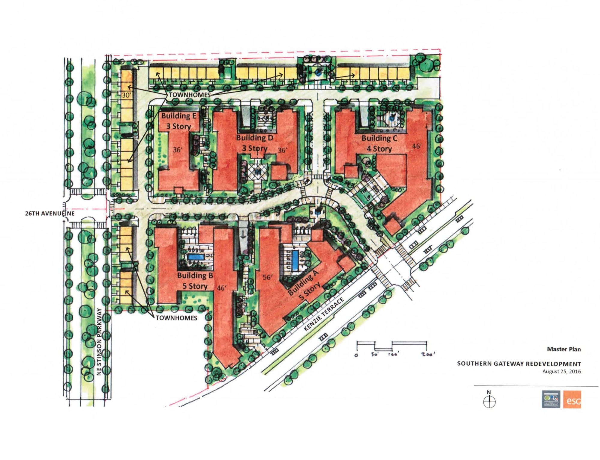 Preliminary Plans For The Lowry Grove Land