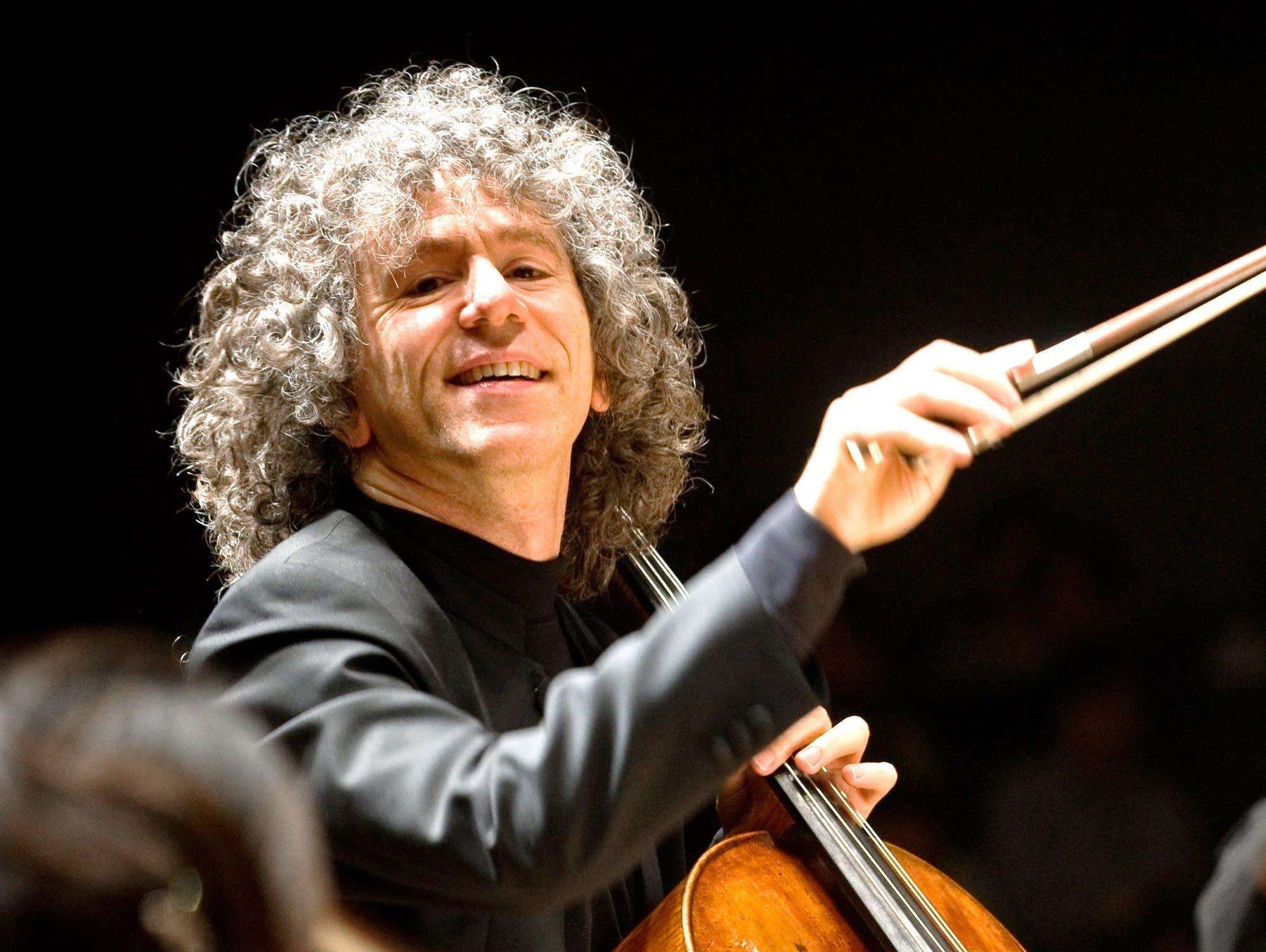 Cellist Steven Isserlis