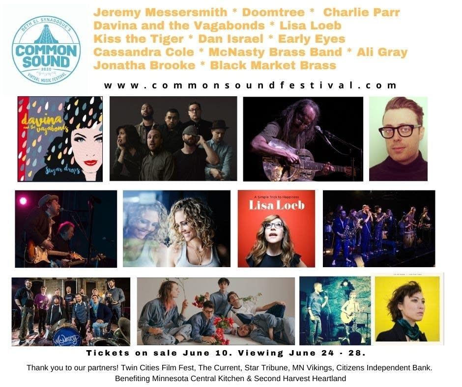 Common Sound Virtual Music Festival June 24-28