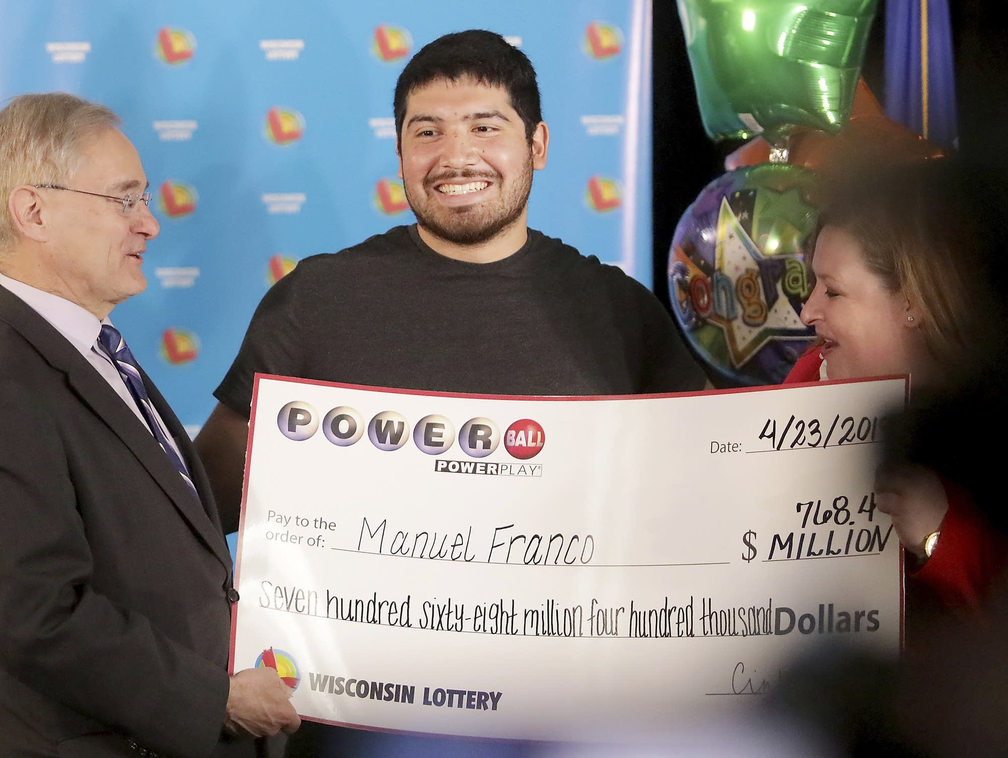 768m Wisconsin Powerball Winner Pretty Much Felt Lucky Mpr News