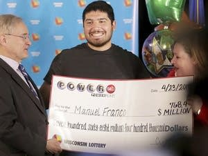 Manuel Franco, winner of second-highest Powerball lottery in history.