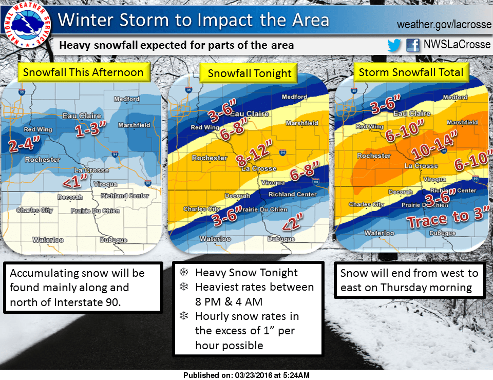 Winter storm south, sloppy metro coating | MPR News
