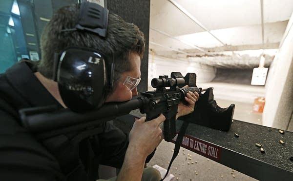 Firing an AR-15