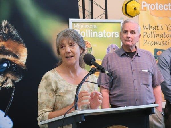 University of Minnesota bee expert Marla Spivak