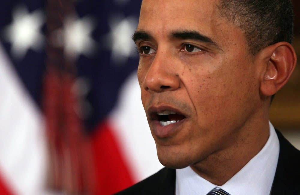 Obama Speaks In Response To Crisis In Egypt