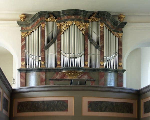 1723 Hildebrandt/Kreuzkirche, Störmthal