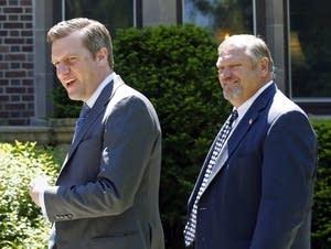 Kurt Daudt and Tom Bakk