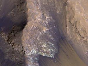 Seasonal water flows on Mars