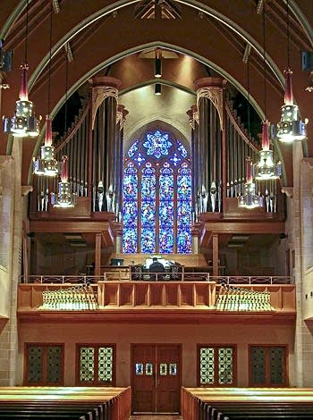 2010 Kegg organ at Zion Lutheran, Wausau, Wisconsin
