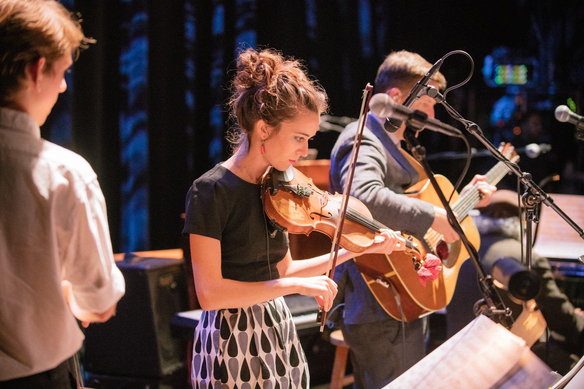 Fiddler Brittany Haas
