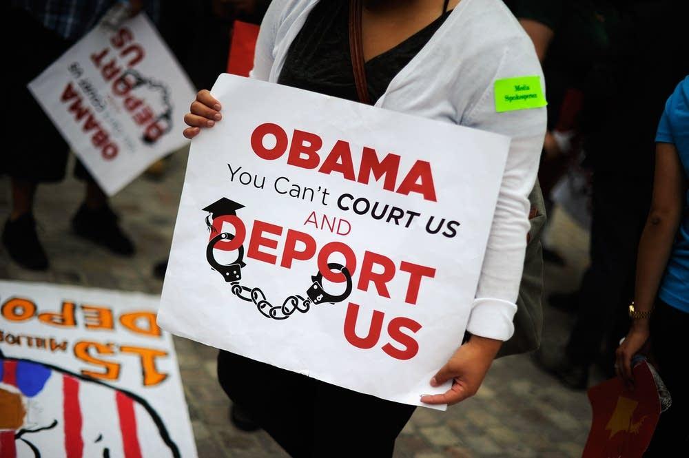 Immigration activists