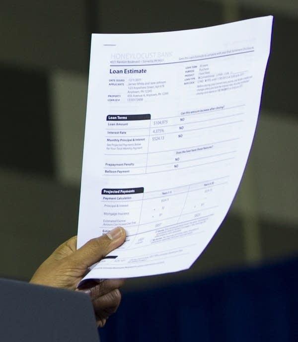 obama loan form for mortgage
