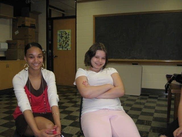 Jasmine and Arielle