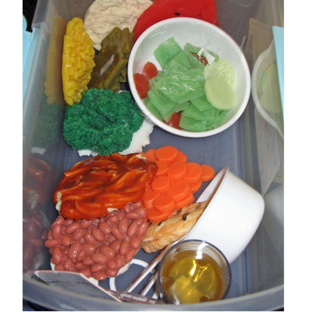 Vegetable samples