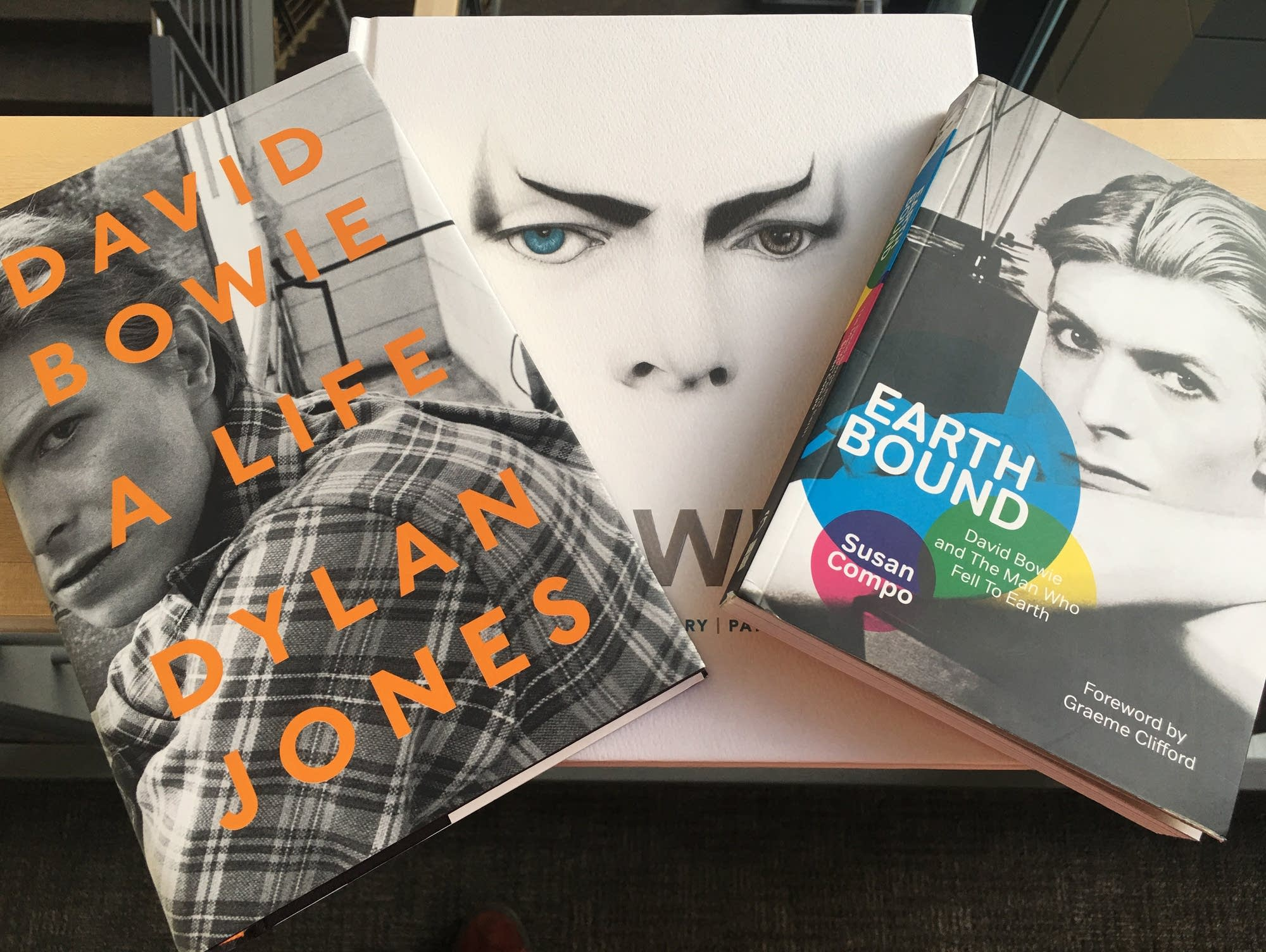 Three new books about David Bowie.