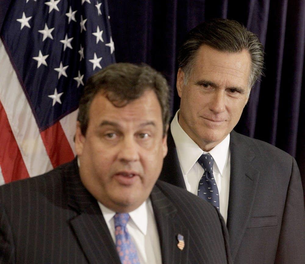Chris Christie, Mitt Romney
