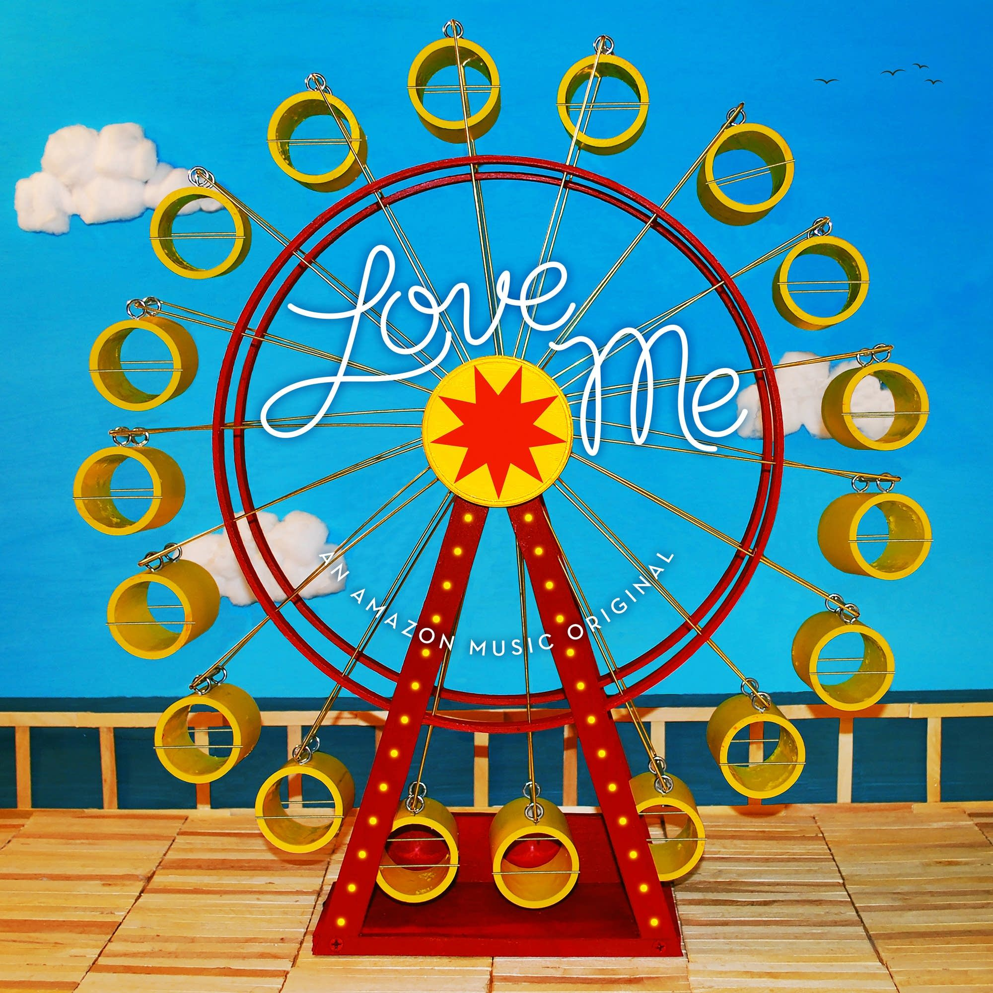 Amazon Music's 'Love Me' playlist artwork