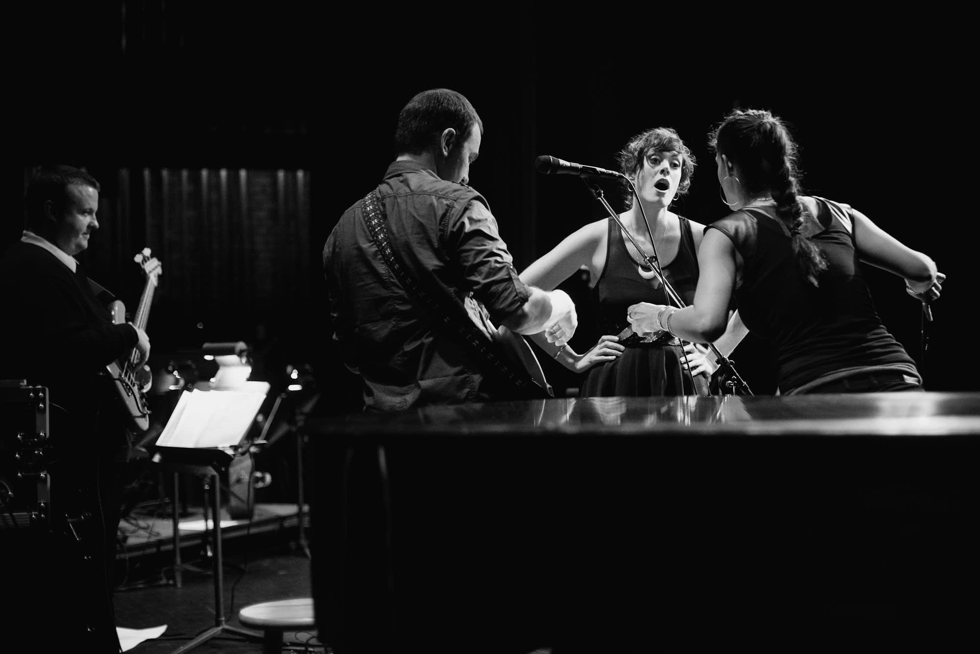 Dessa and her band