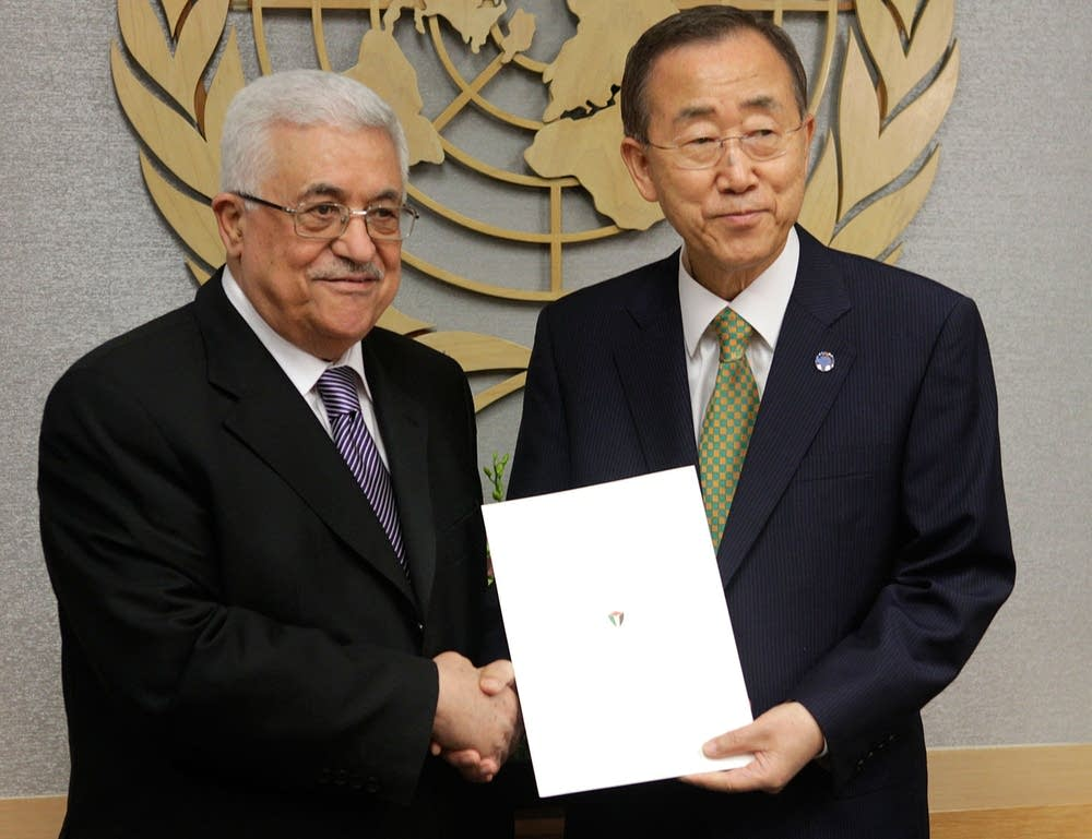 Abbas at the UN