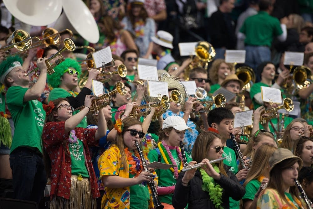 The Edina pep band