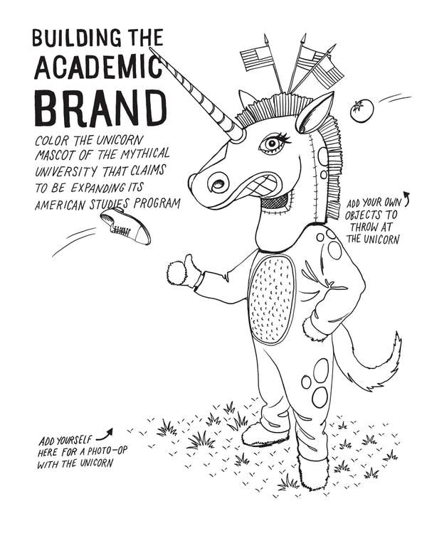 """Doodling for Academics"" by author Julie Schumacher,"