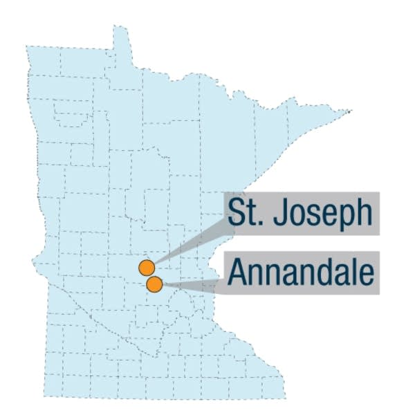 St. Joseph and Annandale, Minn.