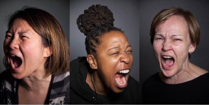 "Whitney Bradshaw's photo project ""Outcry."""