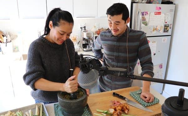 Hong Thaimee and Francis Lam