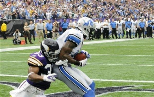 Lions touchdown