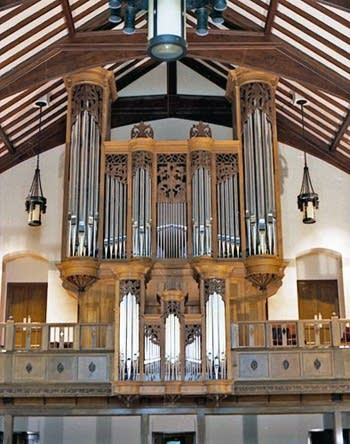 1992 Jaeckel organ at Pilgrim Congregational Church, Duluth, MN