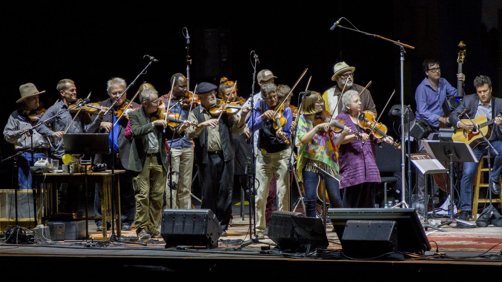 The All-Star Fair Fiddle Formation