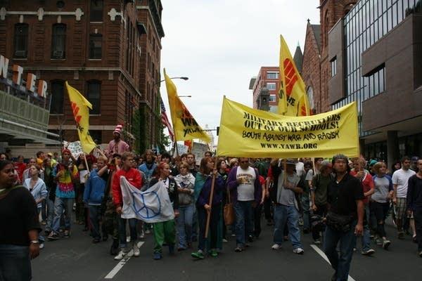 YAWR march