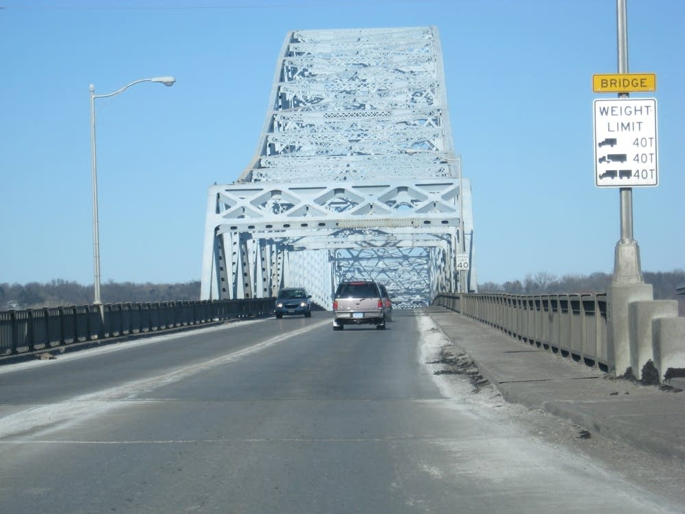 Highway 61 bridge in Hastings