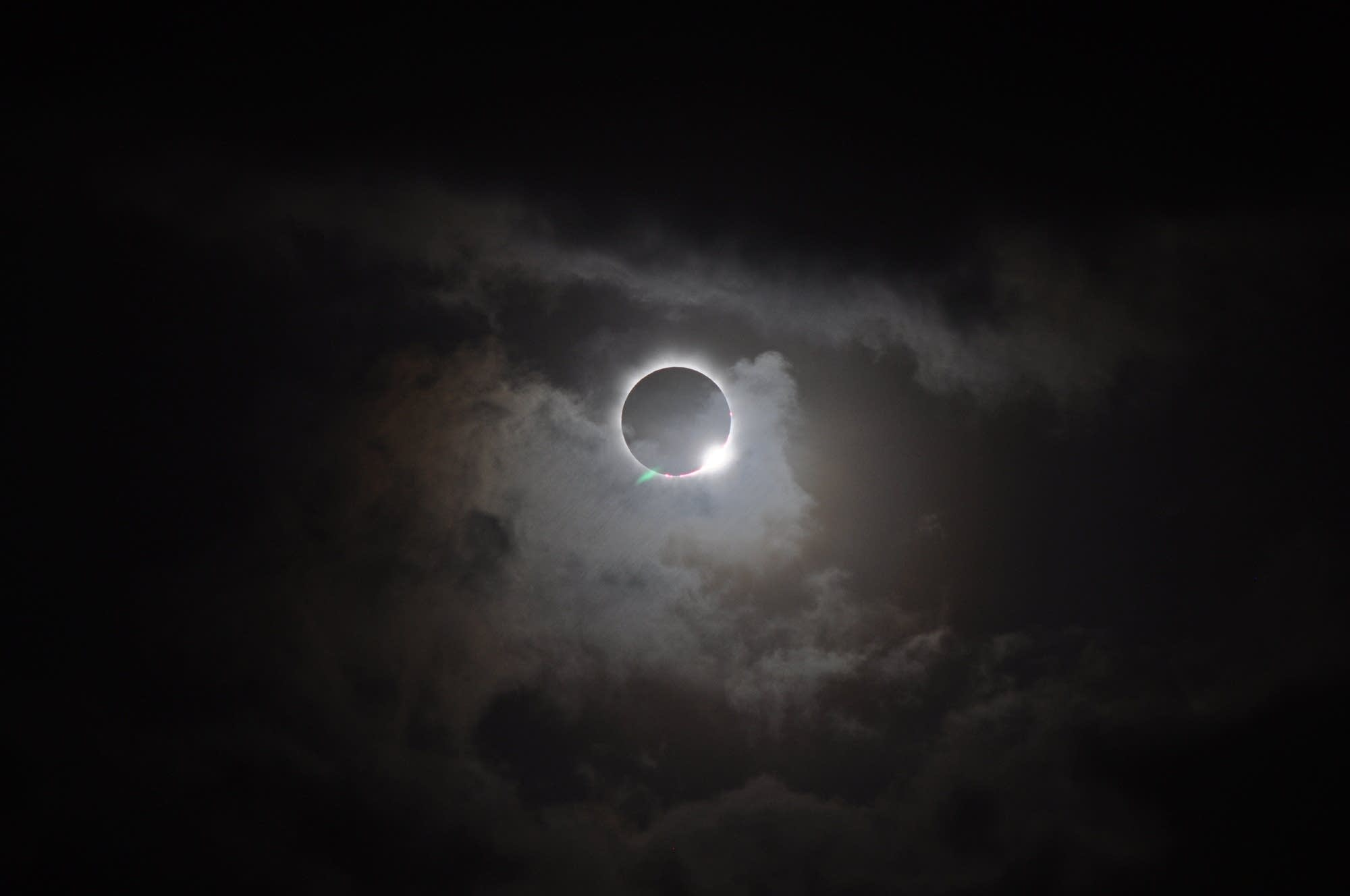 A total solar eclipse in 2012